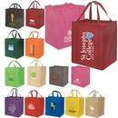 Custom Heavy Duty Grocery Tote Bag, 13