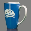 Custom Paddington Mug - 17oz Ocean Blue
