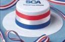 Custom Patriotic Skimmer Hat Accessory For Stuffed Animal