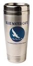 Custom 16 Oz. Double-wall Stainless Travel Mug (Silver)