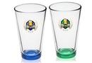Custom Clear 15.25 oz. cooler-mixing glass, 3.375