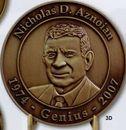 Custom Round Die Cast Coin /3 1/4