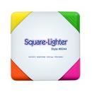 Custom Square Lighter 4 Color Fluorescent Highlighter, 3 3/16