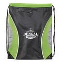 Custom Pinnacle Mesh Drawstring Backpack, 17 1/2