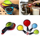 Custom 8 PCS Collapsible Measuring Cups and Spoons