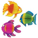 Custom Tissue Color Brite Tropical Fish, 8