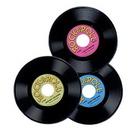 Custom Plastic Records 3 Pack, 9
