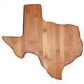 Custom Texas Bamboo Cutting Board