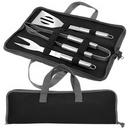 Custom 3 Piece BBQ Set (Black/Grey), 16