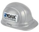 Custom OSHA Certified Hard Hat w/ Decal on 2 Sides