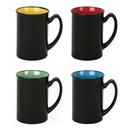 Custom 16oz. Tall Two-Tone Glossy Ceramic Mug