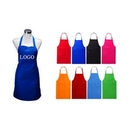 Custom Polyester Bib Apron with Two Pockets, 27 5/8