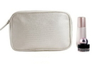 Blank Faux Snake Skin Cosmetic Pouch