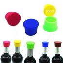 Custom Silicone Wine Bottle Stopper, 1 7/16
