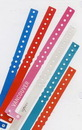 Custom Plastic Wristband w/ Snap Closure - 1 Color (1/2