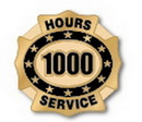 Custom 1000 Hours of Service Deluxe Clutch Pin