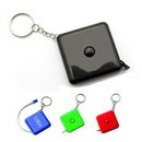 Custom Retractable Tape Measure Keychain, 1 3/4