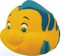 Custom Happy Fish Stress Reliever, 3 1/4