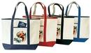 Custom Deluxe Canvas Tote Bag (22