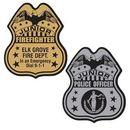 Custom Plastic Badge, 2 9/16