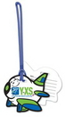 Custom Write-On Luggage Tags .020 Plastic (7 sq/in) Full Color - 6