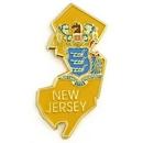 Custom New Jersey Pin