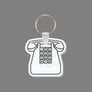 Key Ring & Punch Tag - Desk Phone