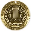 Custom 3'' Music Medal (G)
