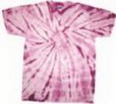 Custom Spider Lavender Tye Dye Shirts