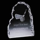 Custom Vertical Golf Iceberg Award, 7
