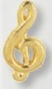 Custom Treble Clef Award Pin