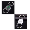 Custom Compass Keychain with Bottle Opener, 1 2/5