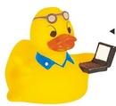 Custom Rubber Hi-tech Duck