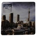 Custom Acrylic Square Coaster (3 1/2