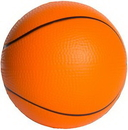 Custom Slow Return Foam Basketball Squeezies Stress Reliever, 2.5