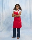 Custom Full Length Bib Apron with 2 Front Pockets, 22