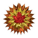 Custom Fall Leaf Fan Burst, 15