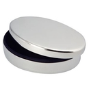 Custom Silver Plated Oval Box