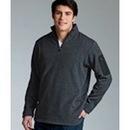 Custom Men's Heathered Fleece Pullover