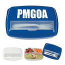Custom 3-Section Lunch Container, 9 1/4