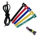 Custom Velcro Cable Tie Wraps, 6