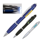 Custom 2 in 1 Delight LED Ball Point Pen, 5.5