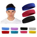 Custom Sport Headband With Direct Embroidery, 6 5/8