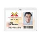 Custom Aveone Premium Grade Clip-On Badge Holder (3 5/8
