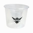 Custom 4 Oz. Clear Bomber Cup