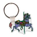 Custom Carousel Horse Animal Key Tag