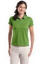 Blank Ladies Nike Golf Dri-Fit Pebble Texture Polo Shirt