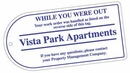 Custom Spot Color Printed Tag Stock (42 To 57 Square Inches)