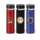 16 oz. Stainless Steel Vacuum Flask, Personalised Flask, Custom Logo Flask, Printed Flask, 8.75