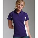 Custom Charles River Apparel Women's Color Blocked Wicking Polo Shirt